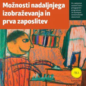 Knjižica Možnosti nadaljnjega izobraževanja in prva zaposlitev