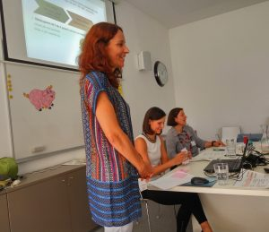 Predavateljice: Katarina Kotnik Ivačič, Mojca Molek in Branka D. Jurišić