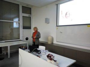 Predavateljica Helena Jersan Kojek